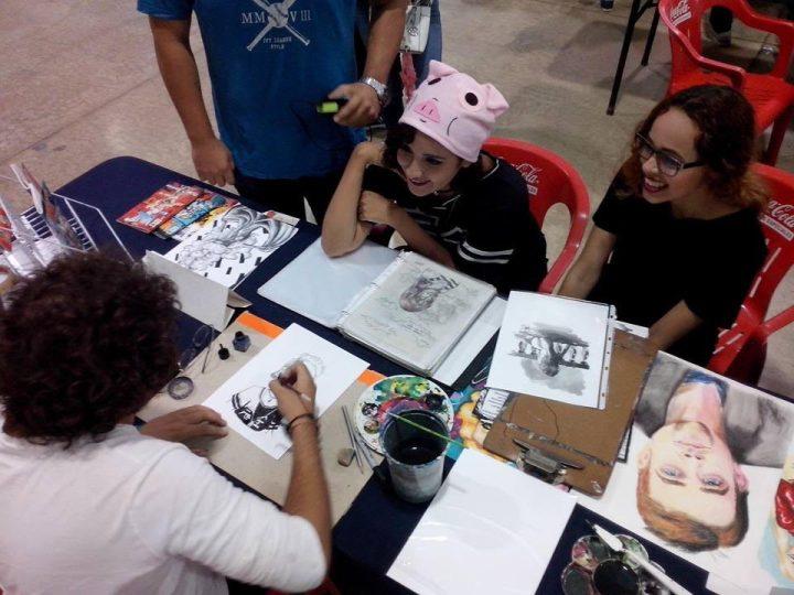 comunidad de dibujantes del sureste